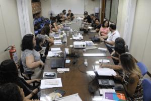 CRP-MG recebe visita da diretoria do Conselho Federal de Psicologia