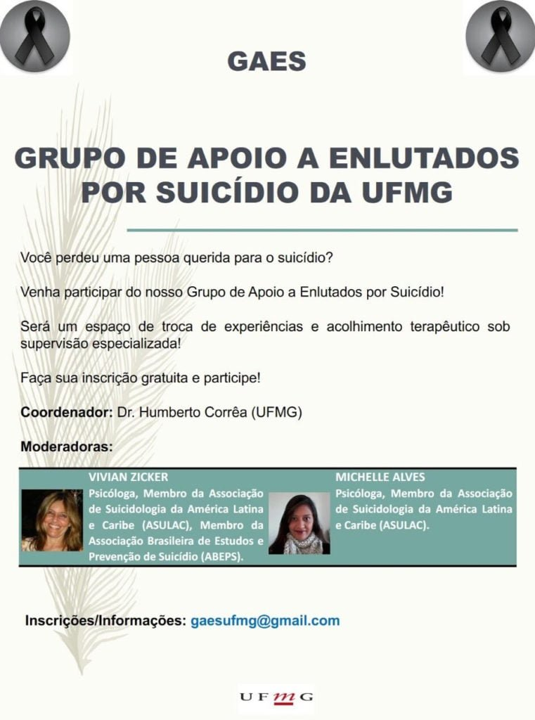 GAES - Grupo de Apoio a Enlutados por Suicidio