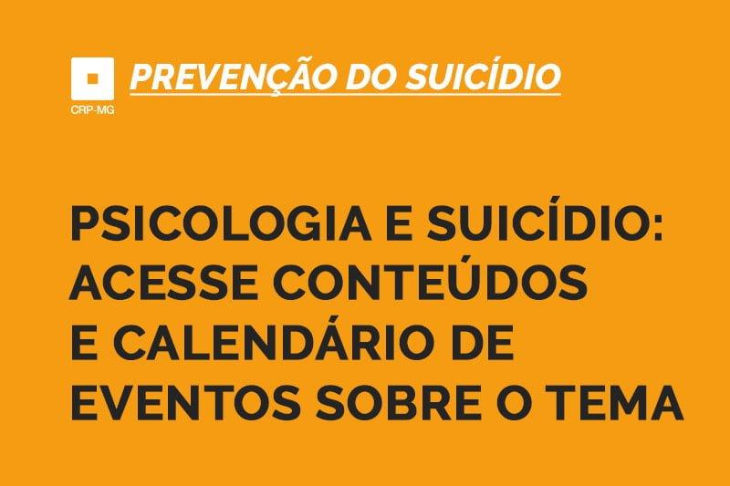 Psicologia e suicídio
