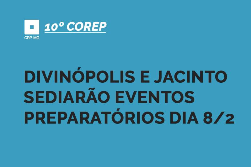 Divinópolis e Jacinto sediarão eventos preparatórios dia 8/2