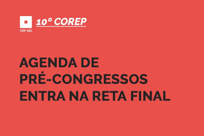 Agenda de pré-congressos entra na reta final