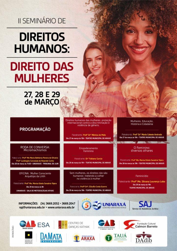 II Seminário Direitos Humanos: direito das mulheres
