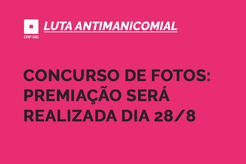 Concurso de fotos: premiação será realizada dia 28/8